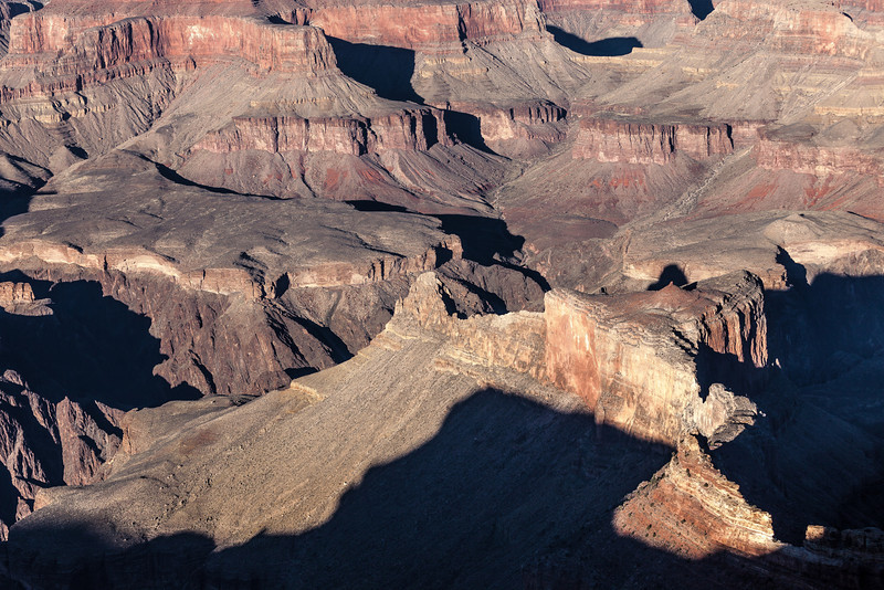 Shadows and Light, South Rim Grand Canyon AZ