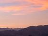 Sunset Silhouette, Anza Borrego State Park CA