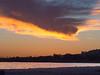 V-Shaped Sunset Cloud, Santa Barbara CA