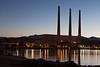Morro Bay Power Plant before Sunrise