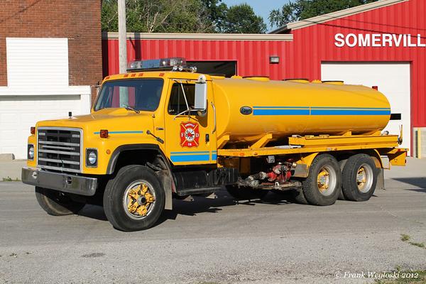 Tanker 1-1 - 1981 International S/Etnyre (L-2118) - 200gpm/2675gal