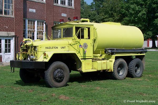 6 Tanker 2 - 1967 Kaiser M52-A2/2006 FD - 250gpm/1800gal