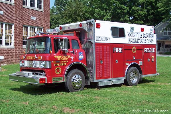 6 Rescue 2 - 1990 Ford/Darley Medium Rescue