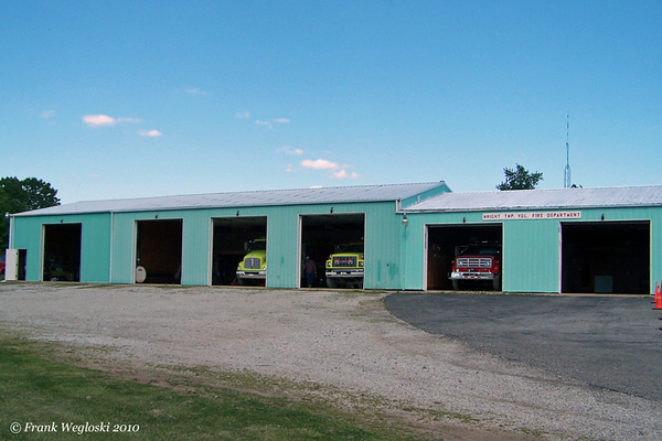 Wright Township Fire Station - IN-59 and CR700N - Midland