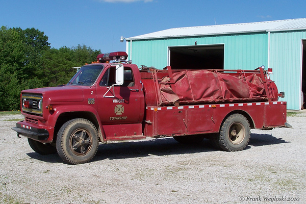 Former Tanker 2 - 1973 Chevy C65/Local - 150gpm/1750gal