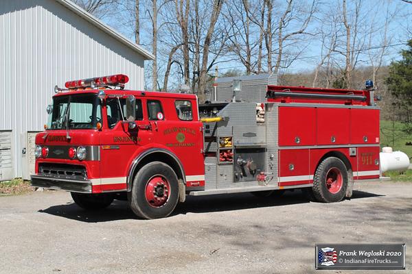 Engine 14 - 1988 Ford C/1989 Quality Pumper (M-473) - 750gpm/1250gal