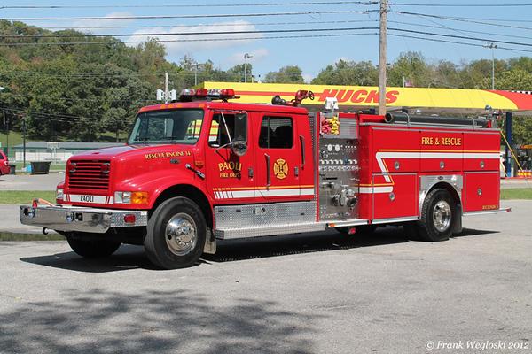 Rescue Engine 14 - 1999 International/E-One Pumper (#20166) – 1250gpm/1000gal