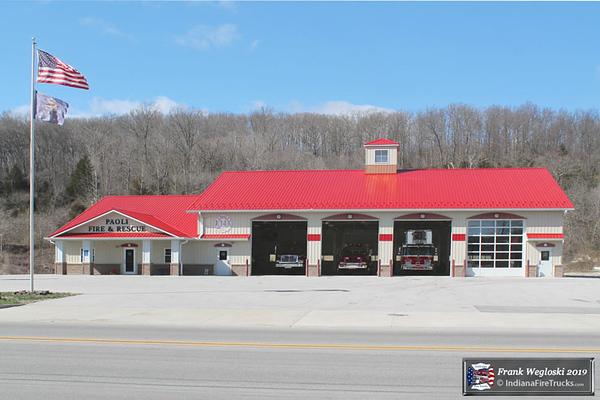 Paoli Fire Station – 1027 US-150 (W. Main St. )