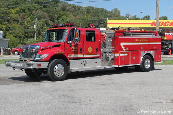 Engine 14 - 2004 International/E-One (#128691) – 1250gpm/1800gal