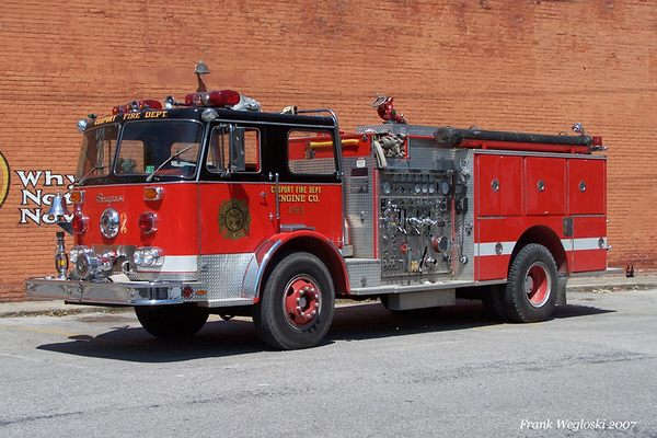 Engine 193 - 1976 Seagrave PB/1986 Pierce Pumper - 1500gpm/500gal