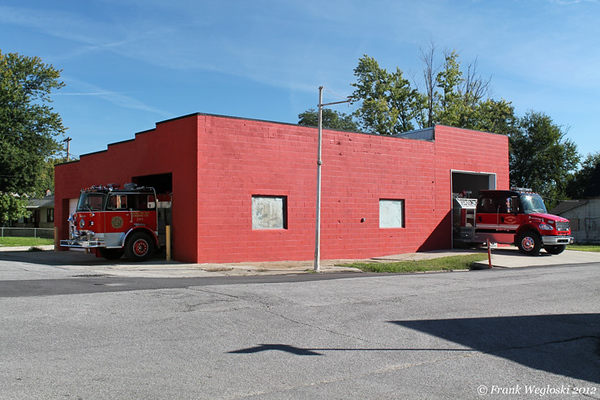 Gosport Fire Station 19 - E. Main and N. 3rd Streets