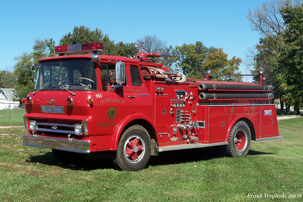 Former Pump 63 - 1966 Chevy CO/American - 750gpm/500gal