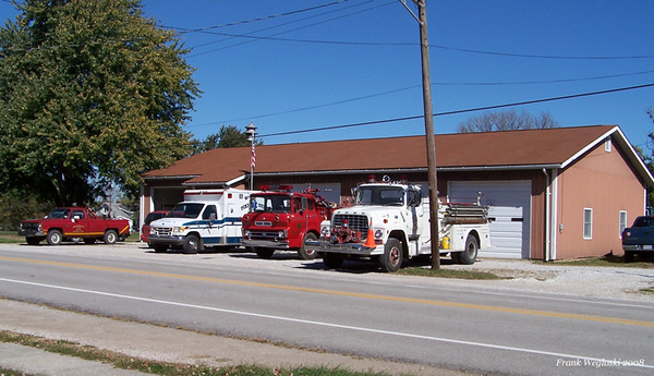 Spurgeon Fire Station and frontline fleet in 2008