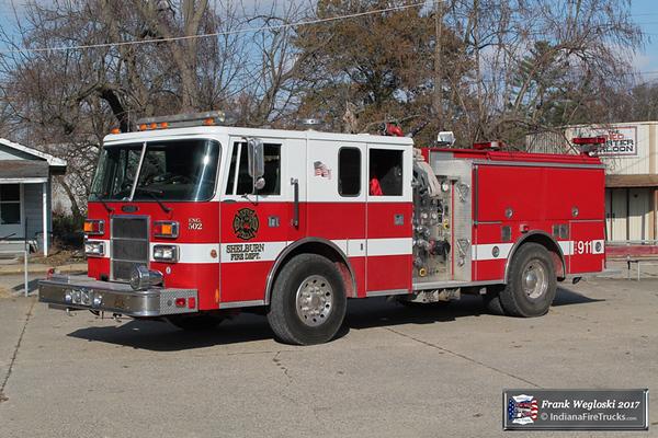 Engine 502 - 1992 Pierce Lance Pumper (E-7359) - 1500gpm/500gal
