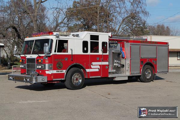 Engine 501 - 1996 Pierce Lance Pumper (E-9803) - 1500gpm/750gal
