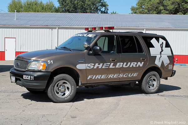 Rescue 51 - 2002 Ford Expedition - Medical First Response