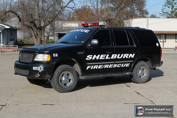 Rescue 52 - 2001 Ford Expedition - Medical First Responder Unit