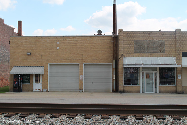 Shelburn Fire Station - Railroad Avenue & Griffith Street