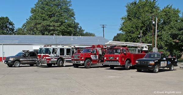 Shelburn Fire-Rescue Fleet 2012