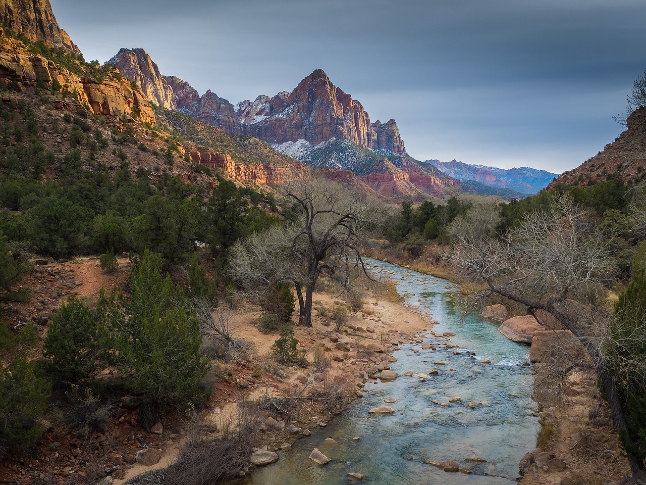 Virgin River and The Watchman..