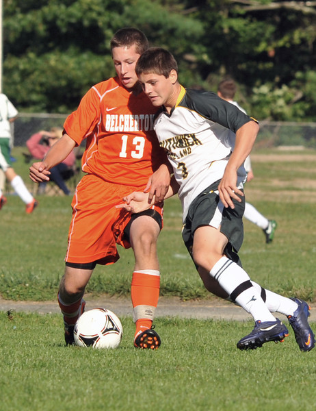 9/10/2012 Southwick Boys' Soccer VS Belchertown