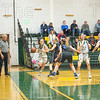Maya Daley drives the baseline against the Palmer doubleteam