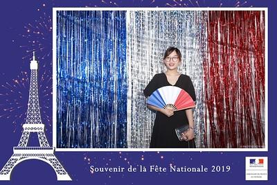 Souvenir de la Fête Nationale 2019 - Ambassade de France Ha Noi - instantanée photobooth - in ảnh lấy ngay Quốc Khánh Pháp - Photobooth Hanoi