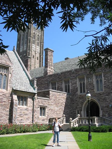 2004/08/08 Michèle 08 août 2004  Princeton