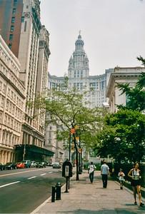 New York Downtown 7 juillet 2002