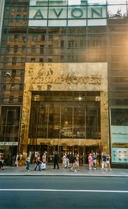 New York Uptown Trump Tower 7 juillet 2002