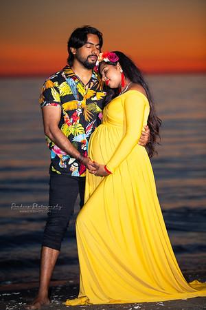 Sowmia Maternity photoshoot