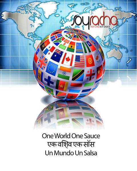 One World One Sauce Soyracha