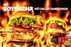 Soyracha (tm) Hot Chili Soy Sauce Burger