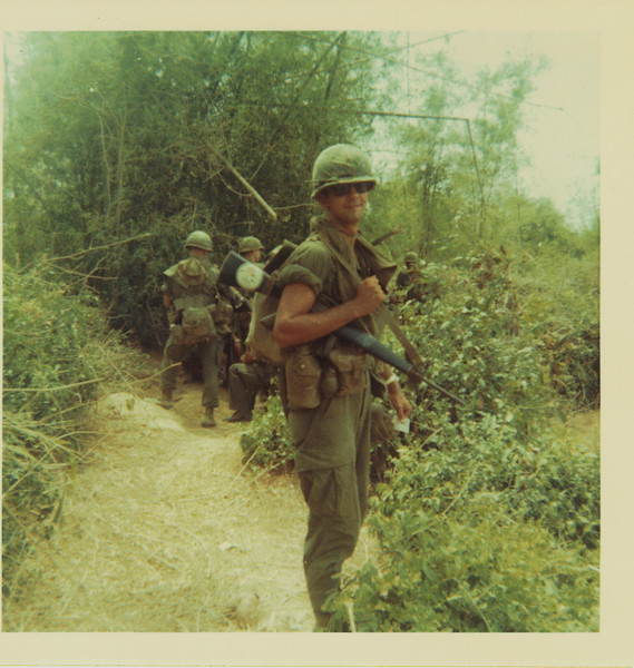 "back of photo: Jack Harar ""Ha-Ha"" Arlington, VA<br /> <br /> Ha-Ha made it home and I've since talked to him multiple times.<br /> He left the squad in the 35th & took a job as a door gunner with Aloha Airlines, a helicopter aero scout squad. Ha-ha said the survival chances were only slightly better, so he accepted.<br /> I recommend clicking on the following link to learn more about Aloha Airlines and the incredible stuff they did.<br /> <a href=""http://www.cacti35th.org/regiment/history/other/4th092268b.htm"">http://www.cacti35th.org/regiment/history/other/4th092268b.htm</a><br /> <a href=""http://www.alohaaeroscouts.net/openingpage.html"">http://www.alohaaeroscouts.net/openingpage.html</a>"