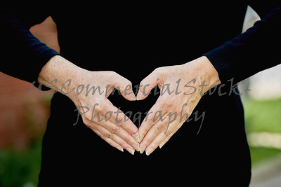 Hands in the Shape of a Heart
