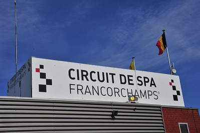Spa track and test day 10th April 2016