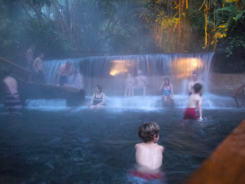 Tabacon Hot Springs 2010