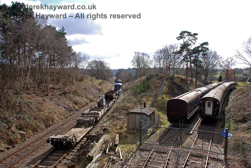 """A similar view of """"Groombridge Junction"""" but taken from above.  02.03.2009"""
