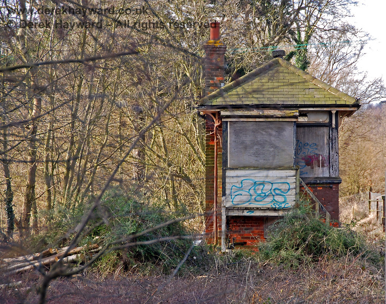 Eridge Signal Box.   02.03.2009