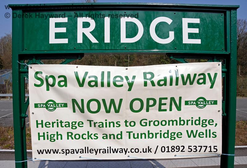 Re-opening poster at Eridge on 27.03.2011 6587