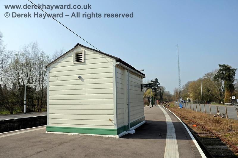 The completely refurbished Gentleman's toilet at Eridge.   27.03.2011 6593