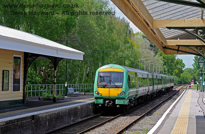 171202 arrives at Eridge on a southbound Uckfield service. 29.05.2021 18008