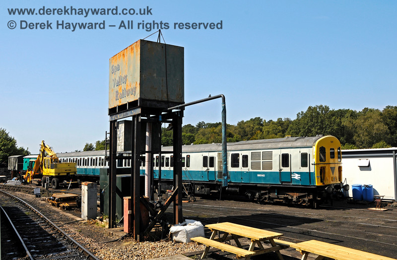 1317 in the yard at Tunbridge Wells West. 25.08.2019 20050