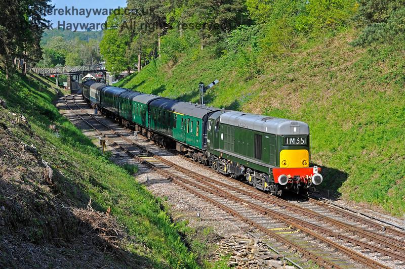 D8188 leaving Groombridge. 29.05.2021 18061