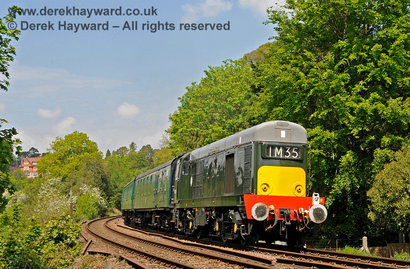 D8188 approaching Forge Farm Crossing. 29.05.2021 20582