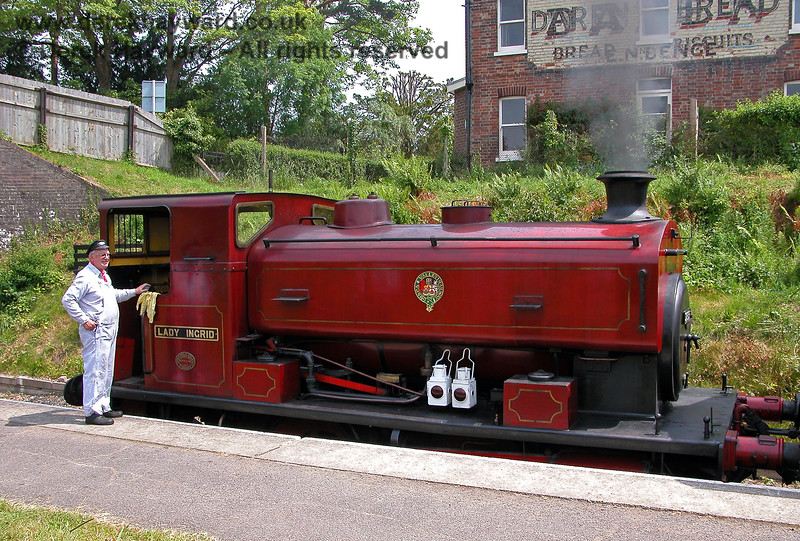 2315 Lady Ingrid at Groombridge. 11.06.2006