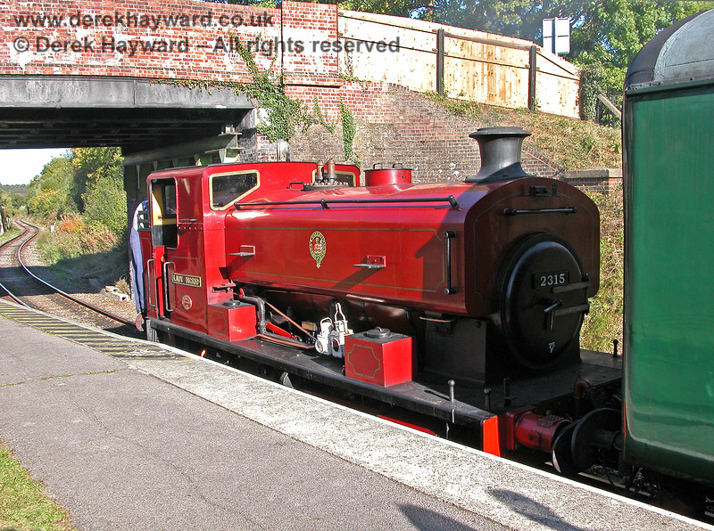 2315 Lady Ingrid at Groombridge. 05.10.2003