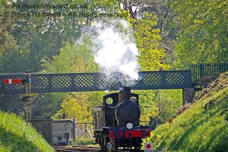 2890 arrives at Groombridge after a test run to Eridge. 30.05.2021 18135