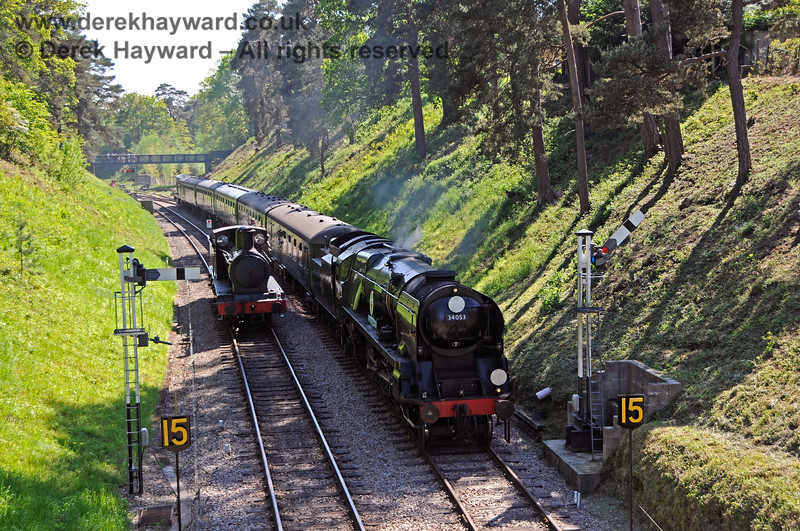 2890 and 34053 at Groombridge. 30.05.2021 20790