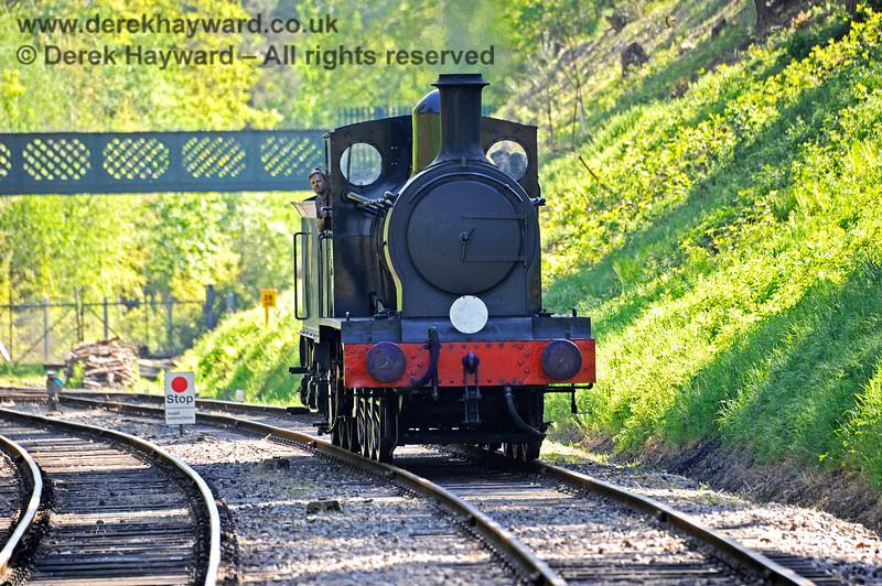 2890 approaching Groombridge after a test run to Eridge. 30.05.2021 18137